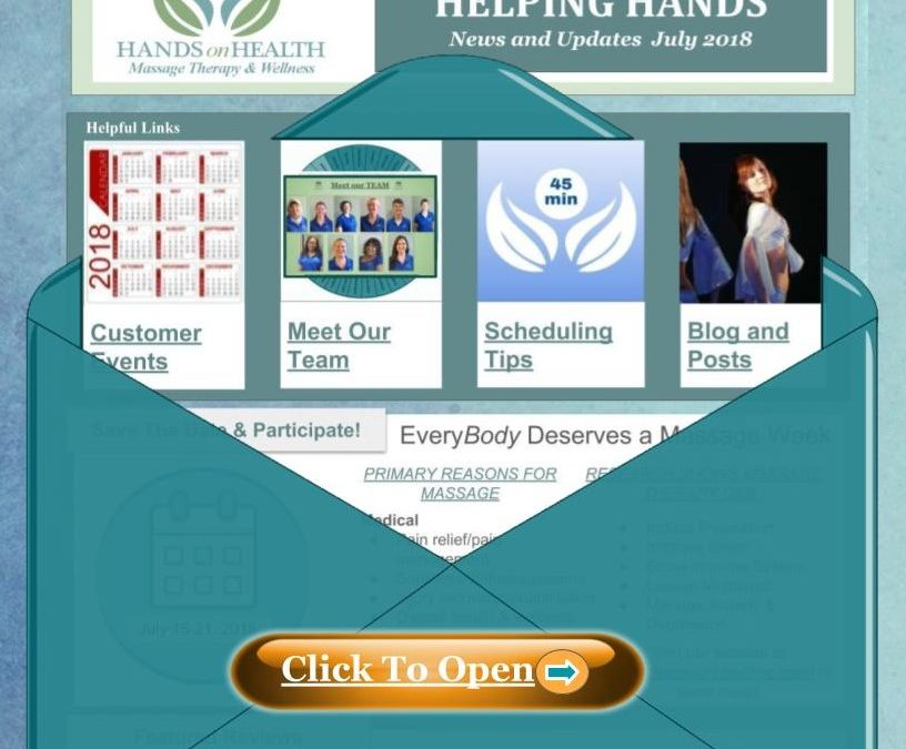 Helping Hands Newsletter July 2018