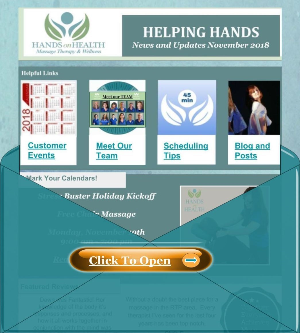 Helping Hands Newsletter November 2018